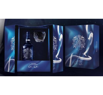 Hộp quà rượu Chivas Regal 18 Blue Signature (750ml)